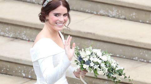Todos los detalles del vestido de novia y la tiara de Eugenia de York