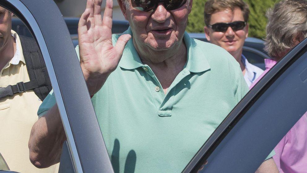 Don Juan Carlos, un rey jubilado en Saint Tropez