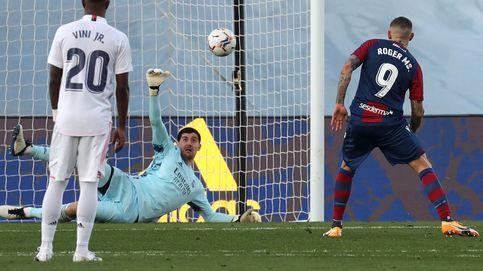 El Real Madrid sufre otro porrazo contra un buen Levante y el VAR (1-2)