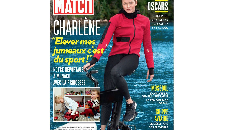 Charlène en la portada de 'Paris Match'.