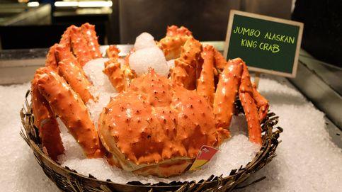 Cangrejo real y cangrejo de las nieves, dos manjares muy apreciados