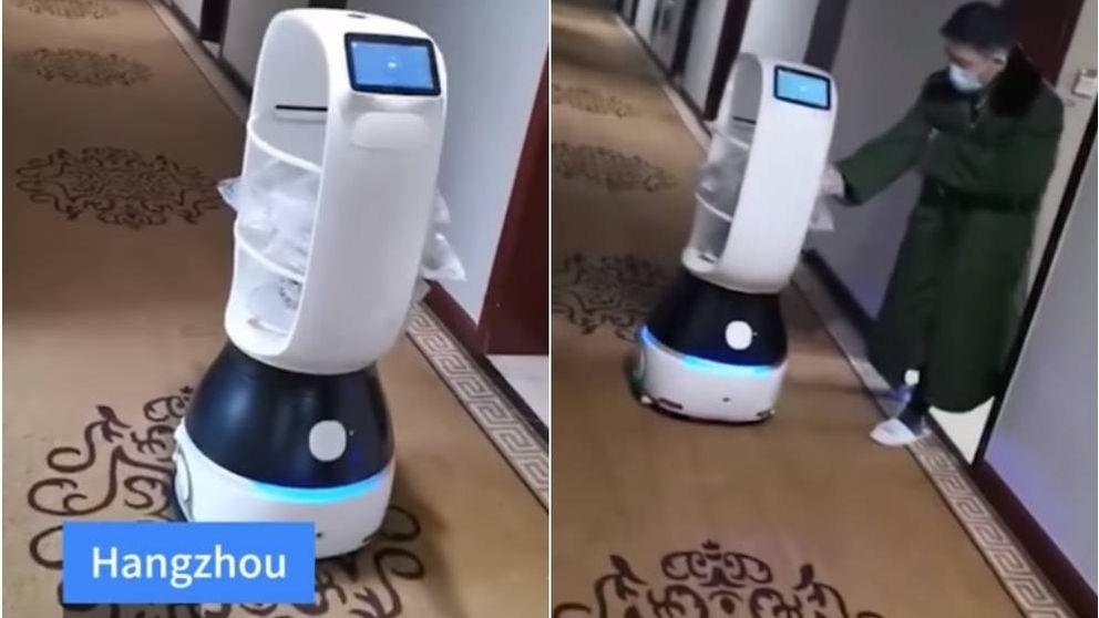 Los asistentes y enfermeros robot que ponen coto al contagio del coronavirus de China