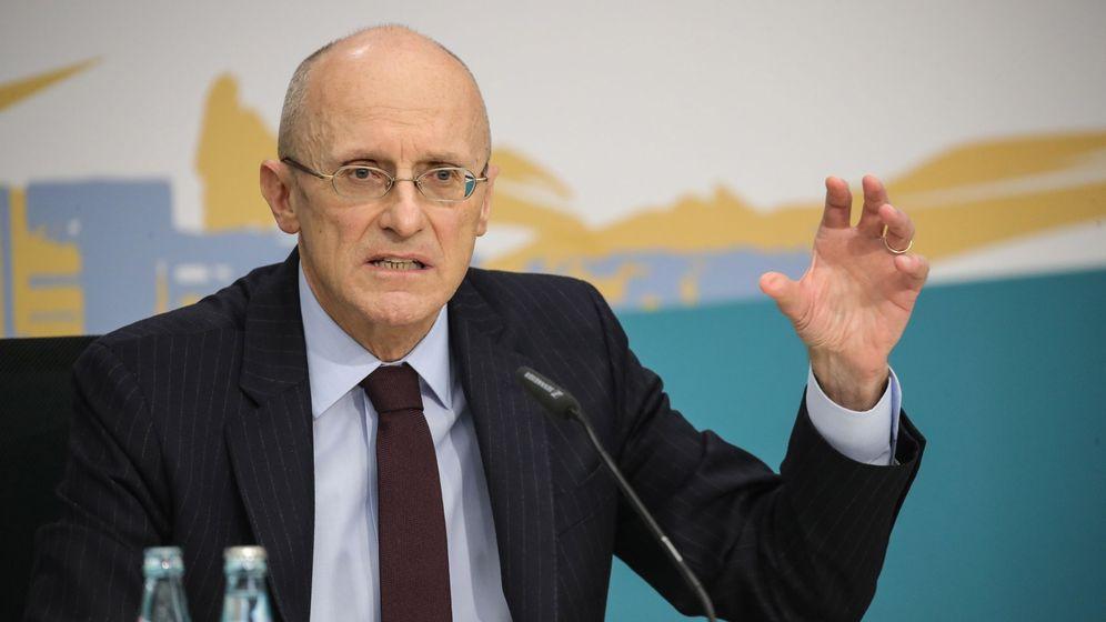 Foto: Andrea Enria, presidente del Mecanismo Único de Supervisión (MUS), del BCE. (EFE)