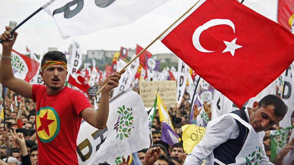 Foto: Campaña electoral en Turquía (EFE)