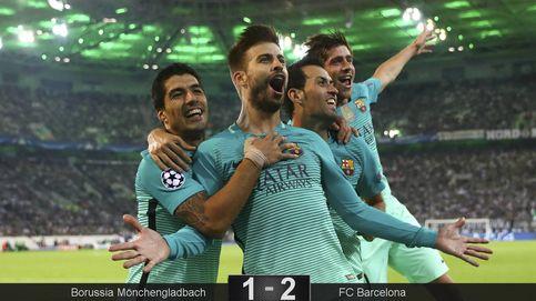 El resbalón del City hace la victoria del Barça en Alemania un poco más feliz