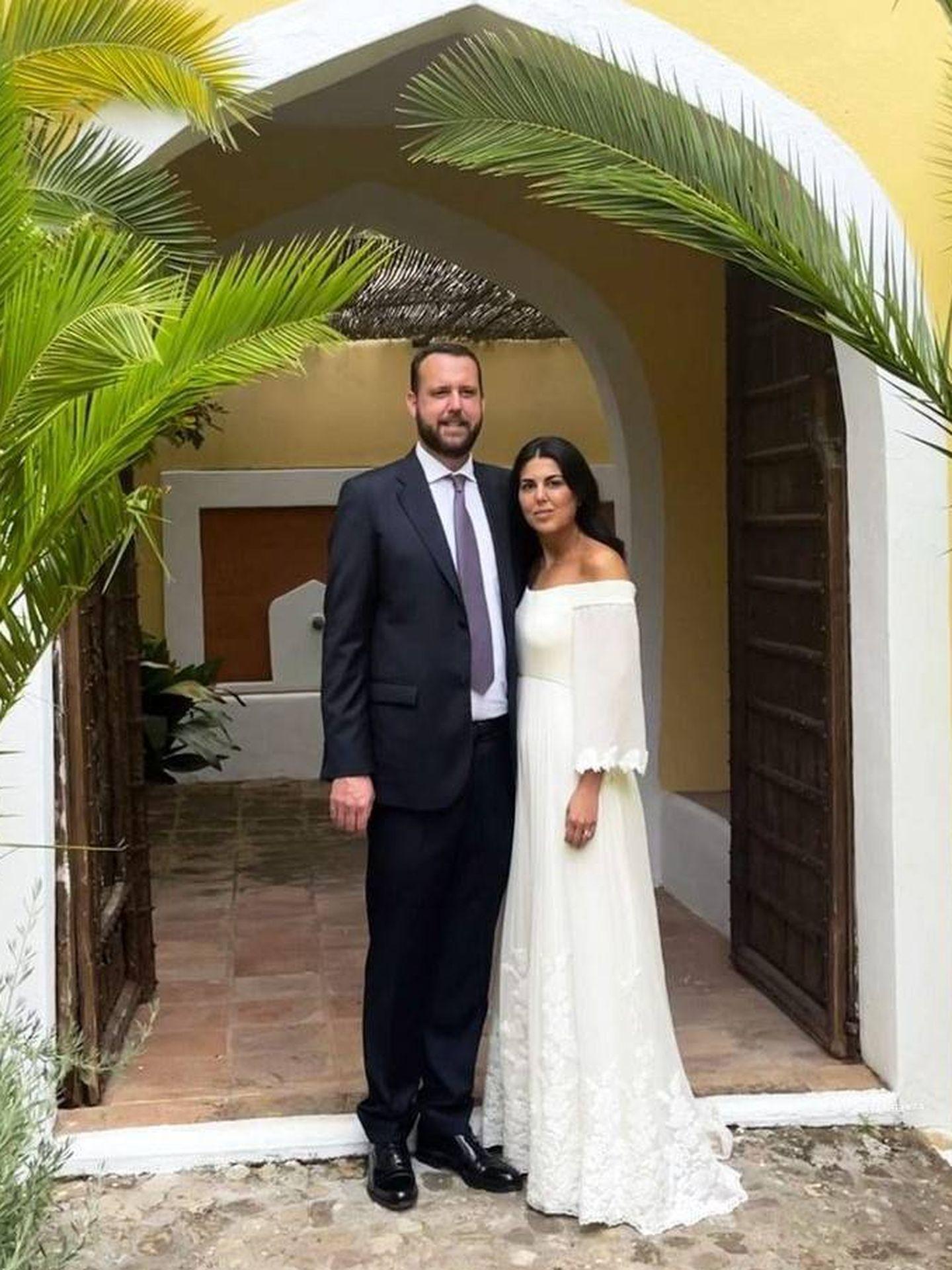 Marina Gómez de Baeza y Alberto Hevia. (Redes sociales)