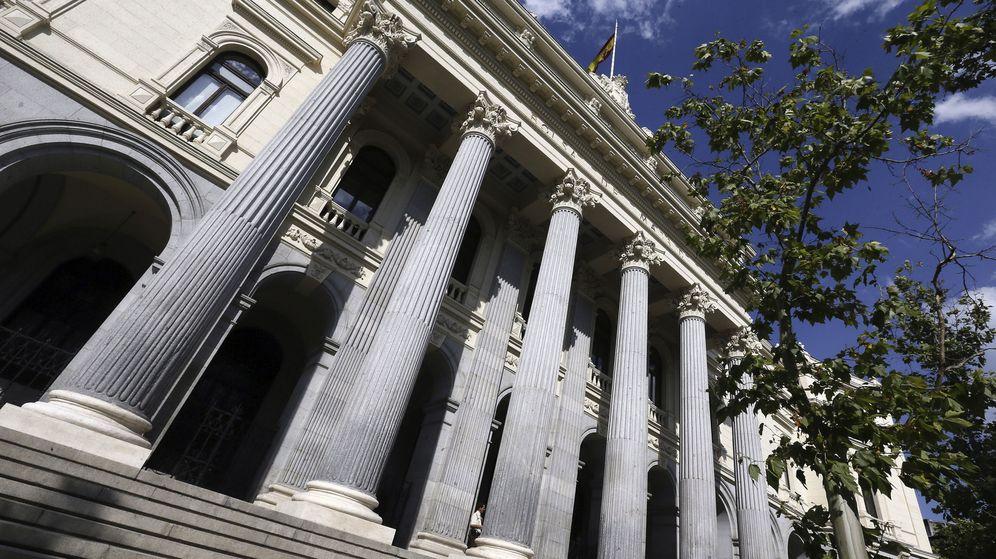 Foto: Fachada del Palacio de la Bolsa de Madrid. (EFE)