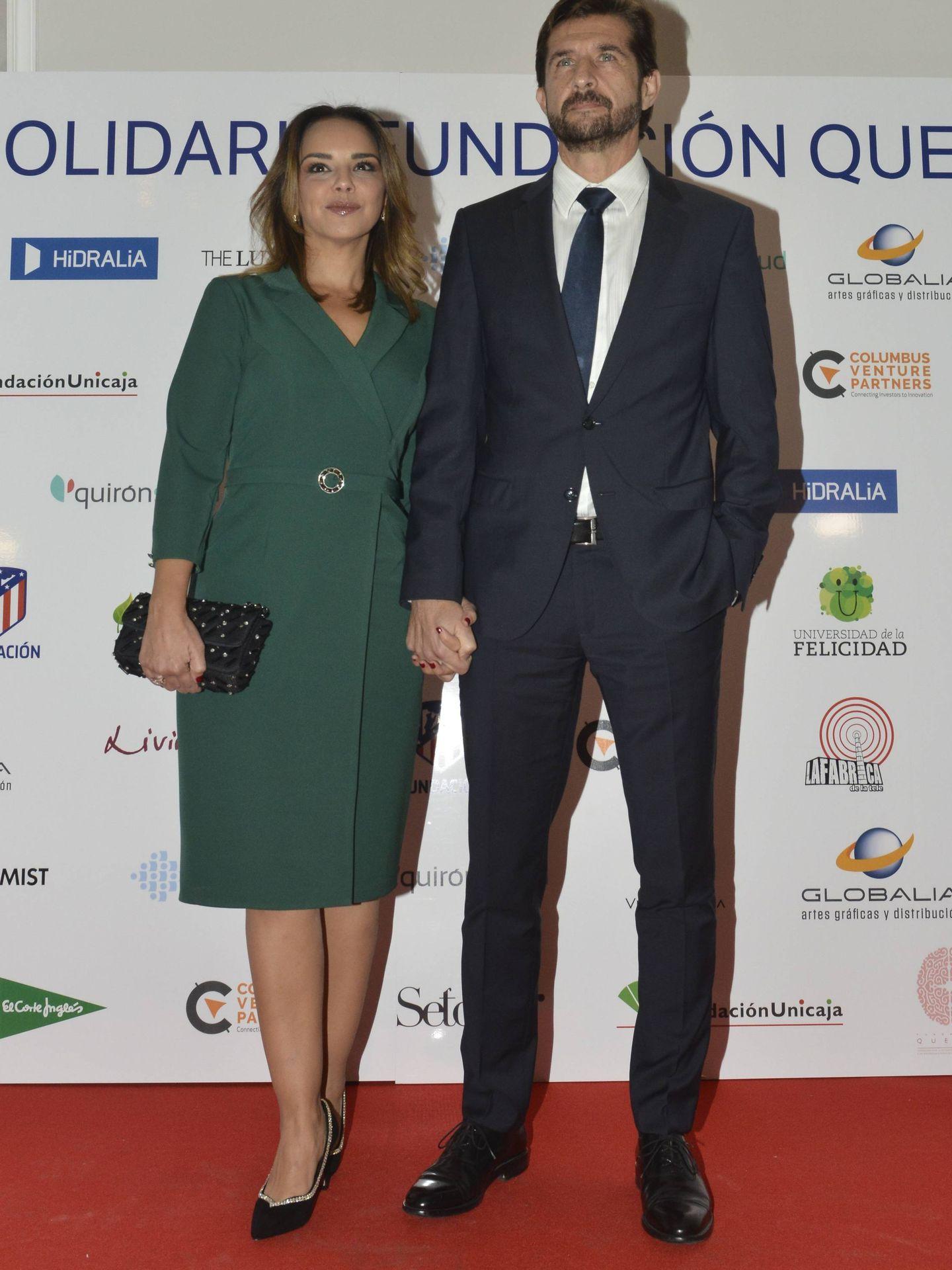 Chenoa, durante la segunda cena benéfica de la fundación Querer en el hotel Villamagna de Madrid.