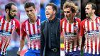 La revolución del vestuario del Atlético y la desbandada en la cara de Simeone