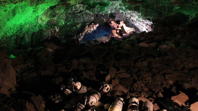 Imagen del interior del túnel (Foto: UNED)