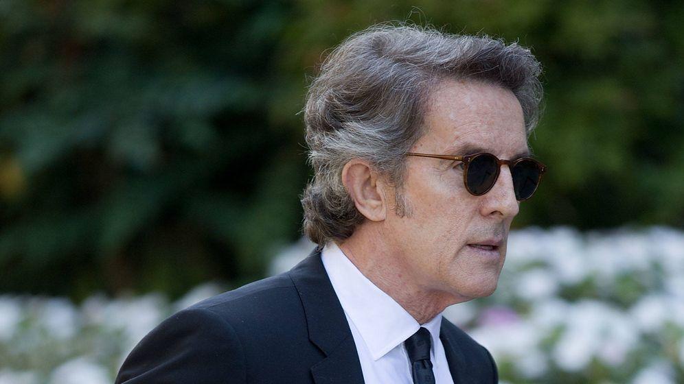 Foto: Alfonso Diez, en el funeral de Miguel Boyer. (Getty Images)