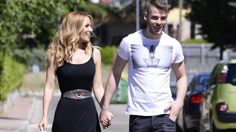 Foto: Edurne pasea su amor por De Gea tras su fracaso en Eurovisión