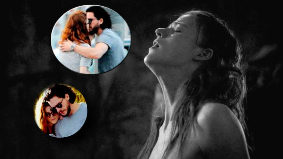 Las fotos que confirman el romance entre Kit Harington y Rose Leslie