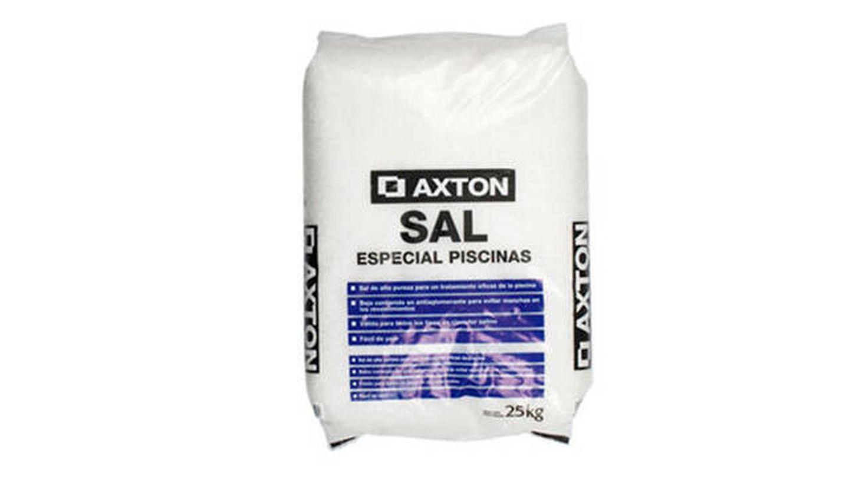 Saco de sal granulada para cloración salina de Axton 25 kg