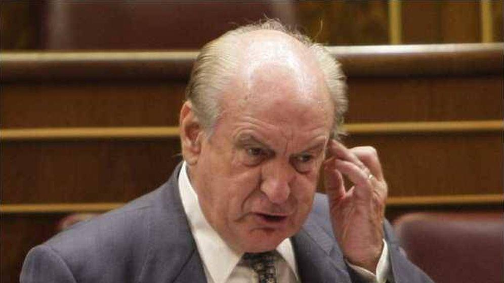 Foto: Luis Mardones, de Coalición Canaria en el Congreso. (EFE)