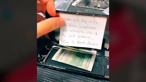 La nota que encontró un técnico: Di a mi mujer que no se puede arreglar