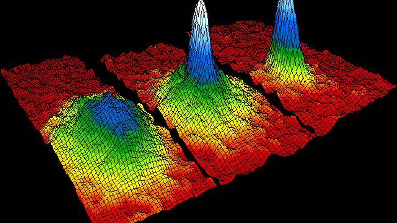 Una visualización de los momentos de la materia en un condensado Bose-Einstein