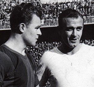 Foto: El arte de 'robar' jugadores: el día que Kubala fue del Madrid y Di Stéfano del Barça