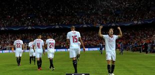 Post de Un gol del Lyon en Turín evita que la fiesta sea completa en Sevilla
