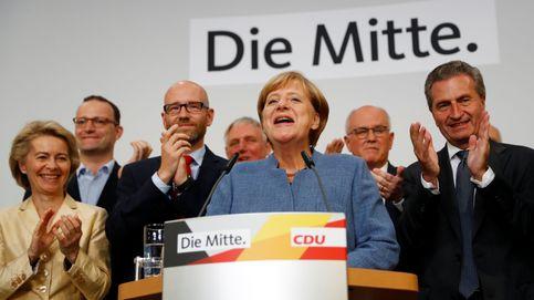 Merkel gana las elecciones y la ultraderecha es tercera fuerza en Alemania