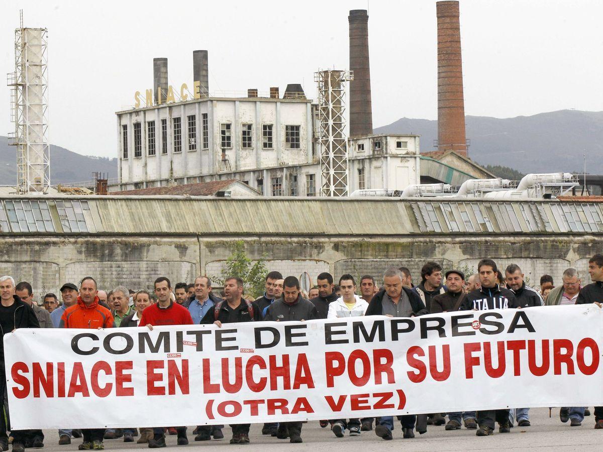 Foto: Fábrica de Torrelavega (Fotografía de archivo)