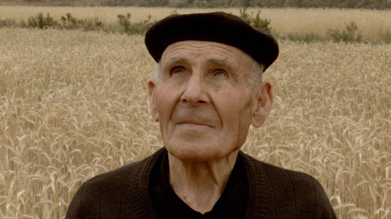 Ángel Beltrán, uno de los supervivientes, en el documental 'Experimento Stuka',