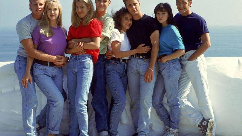 En los años 90, en la serie 'Sensación de vivir' se rescató una moda impuesta por James Dean.