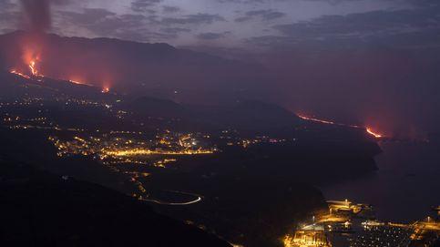 Así es la lluvia de ceniza volcánica que cae sobre La Palma