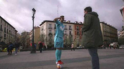 Nunca se le había hecho tanto lío a Madrid... Regates del Inter Movistar por la ciudad