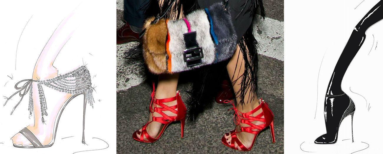 Foto: Olivia Palermo diseña zapatos junto a Aquazzura