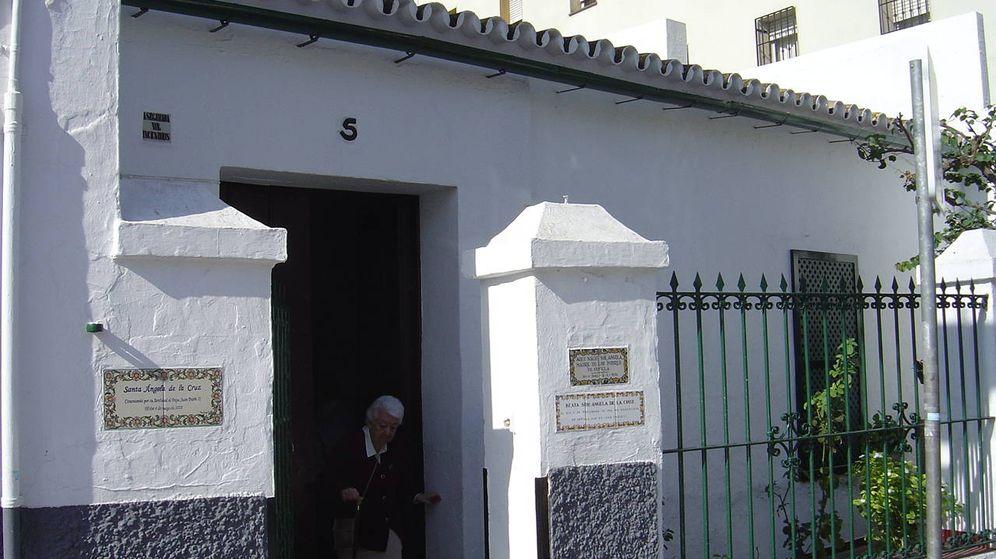 Foto: Casa natal de Santa Ángela de la Cruz situada en Sevilla, España.