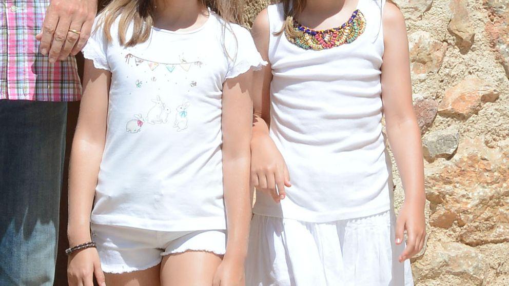 Leonor y Sofía no quieren estudiar ballet, prefieren el voleibol