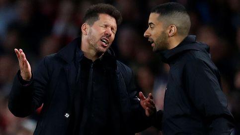 El fuerte estrés de Simeone y el respaldo total del club y la plantilla
