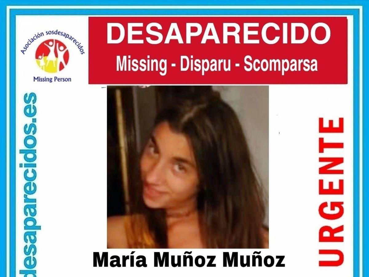 Foto: Cartel de SOS Desaparecidos