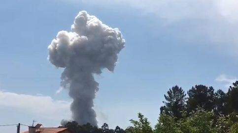 Al menos 12 heridos al explotar una casa que almacenaba material pirotécnico en Tui