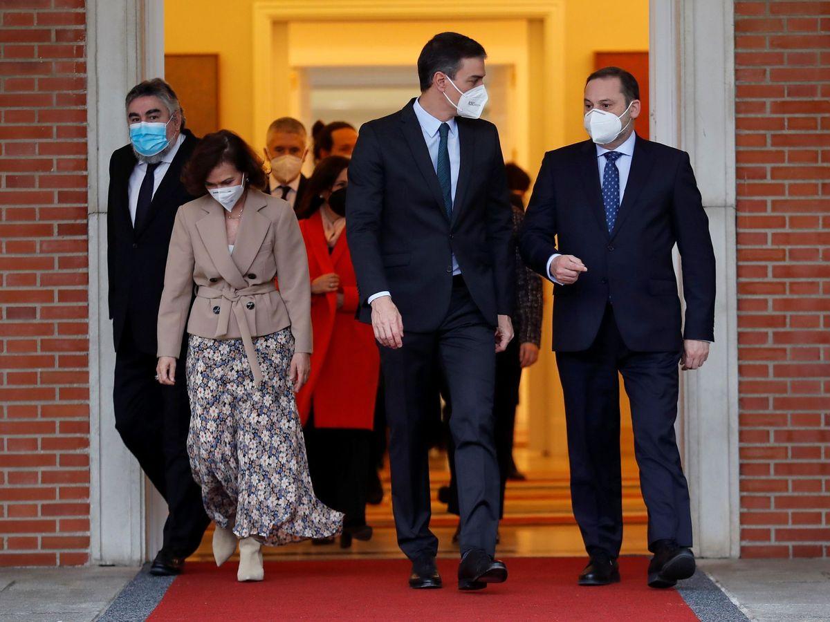 Foto: Foto de familia del Gobierno. (EFE)