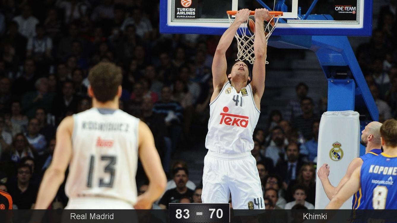 Foto: La gran defensa en la segunda parte le dio el triunfo al Real Madrid (Sonia Cañada/Cordon Press)