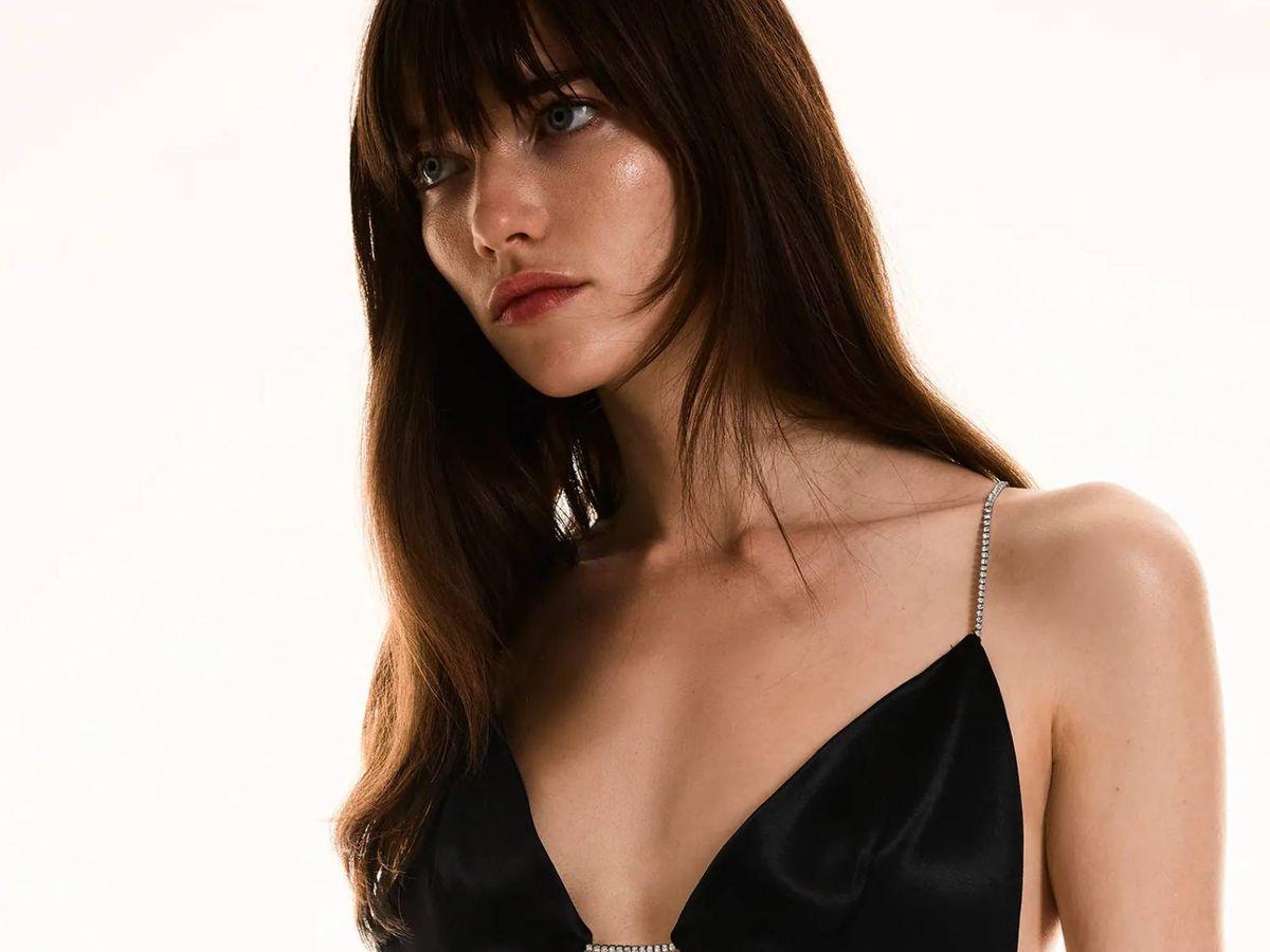 Foto: Vestido de Zara de nueva colección. (Cortesía)