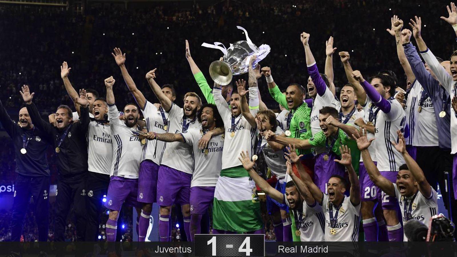 Final Champions League  El Real Madrid le gana a la historia y se hace  leyenda con su Duodécima Copa de Europa f85263c9aee9a