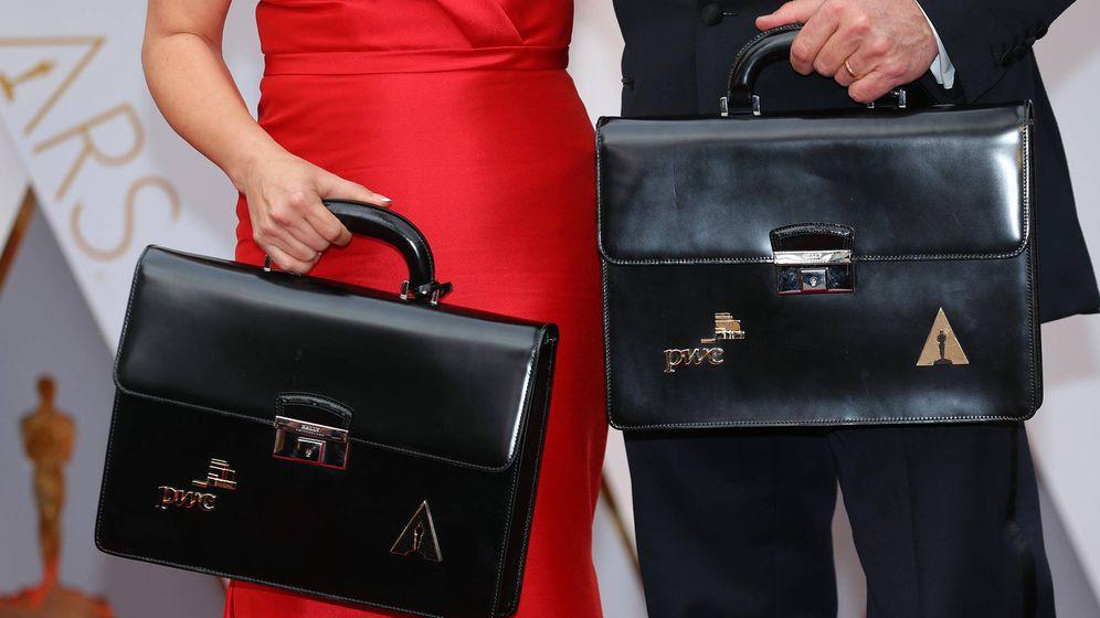 Foto: Los famosos maletines con los sobres de los premiados en los Oscar