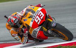 Márquez sigue a golpe de récord en MotoGP con la octava pole del año