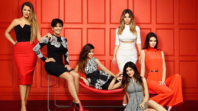 Las Kardashian en una foto promocional de su reality show. (E!)