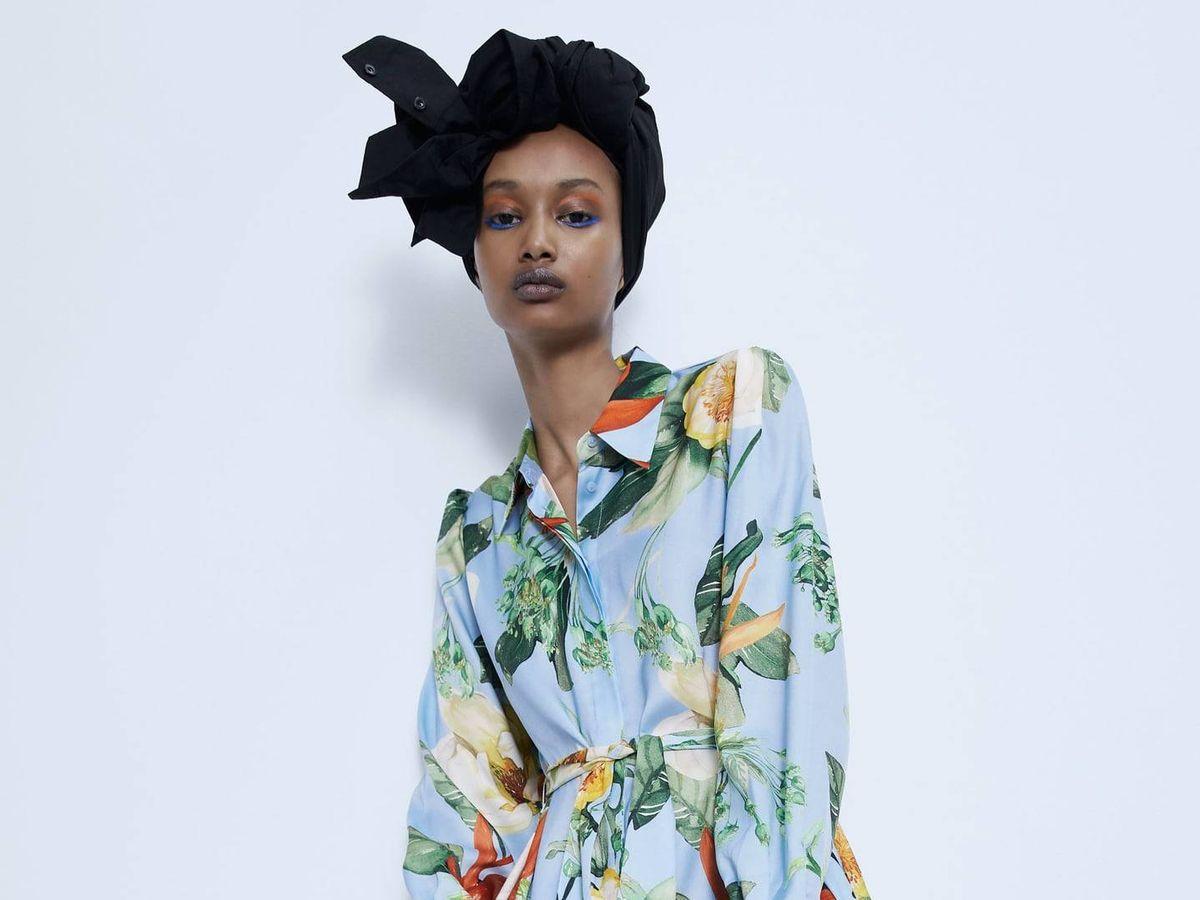 Foto: Este vestido camisero de Zara triunfa en ventas. (Cortesía)