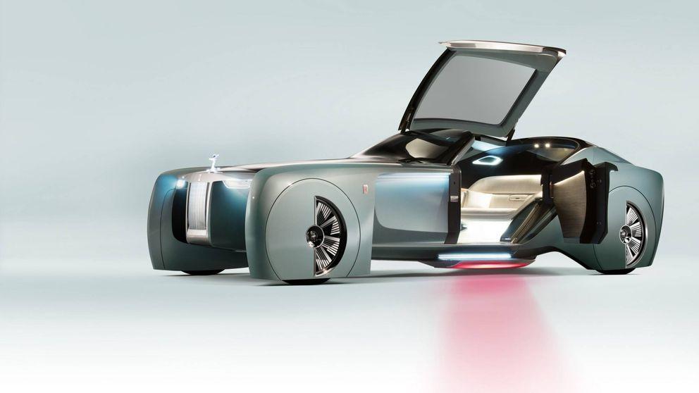 Rolls-Royce anticipa el coche de lujo del futuro