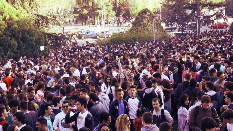 San Cemento, el macrobotellón de la Universidad Complutense