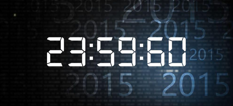 Foto: Este 2015 durará un segundo más (para desgracia de internet)