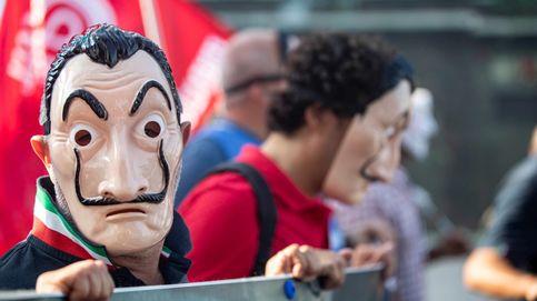 Manifestación de los trabajadores de Alitalia y ópera en vivo en Times Square: el día en fotos