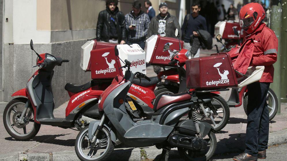 Foto: Motorista de Telepizza (Reuters)