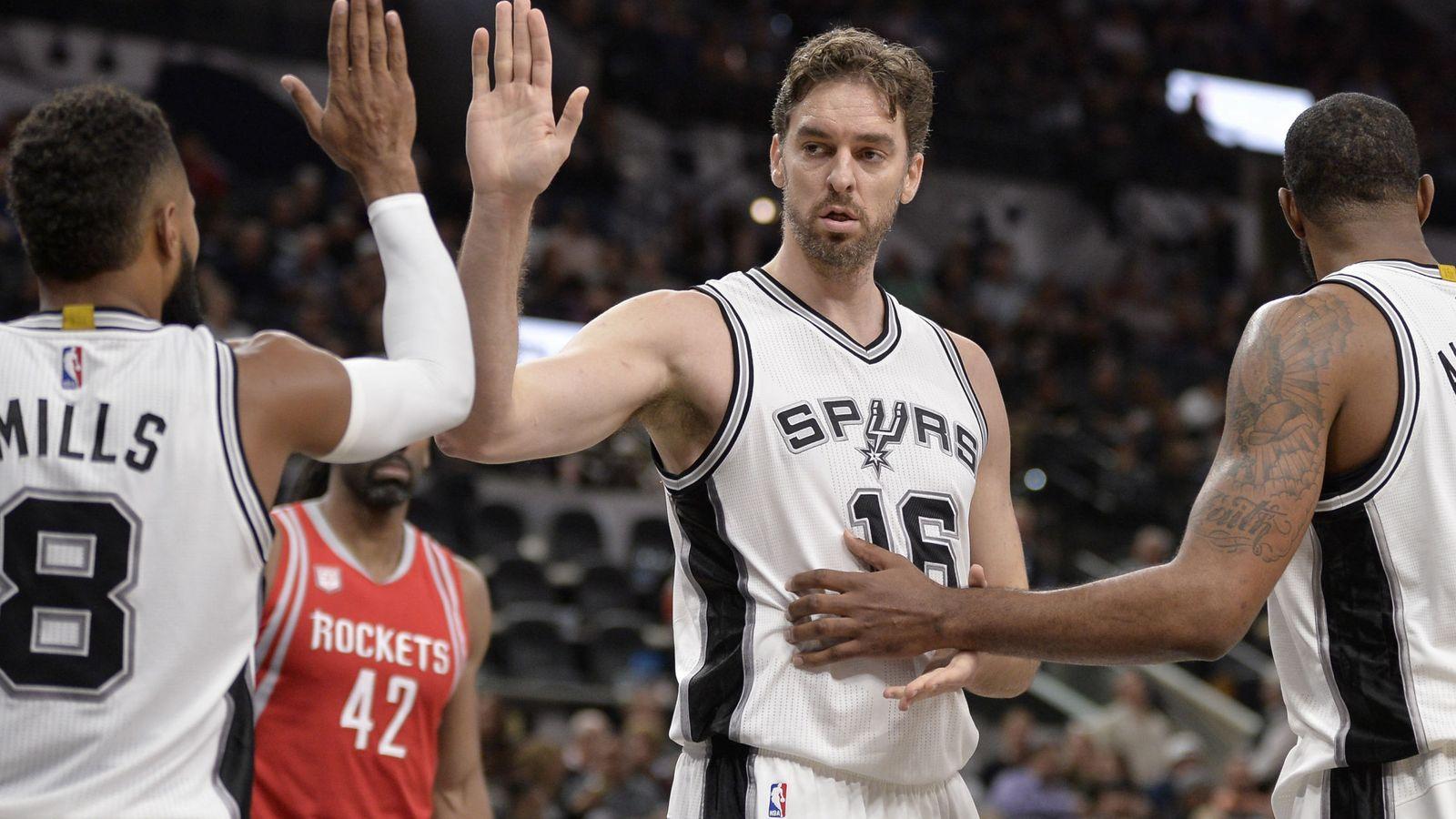 Foto: Los Spurs suman tres victorias seguidas (Darren Abate/EFE)