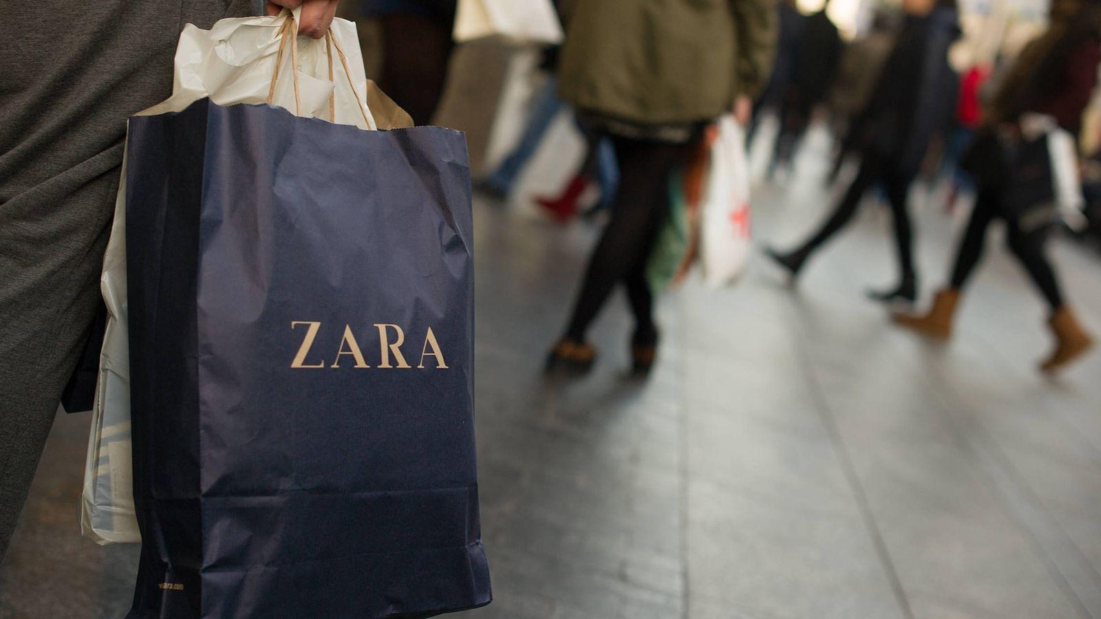Foto: Bolsa de Zara, cadena del grupo Inditex. (Fuente: Getty).